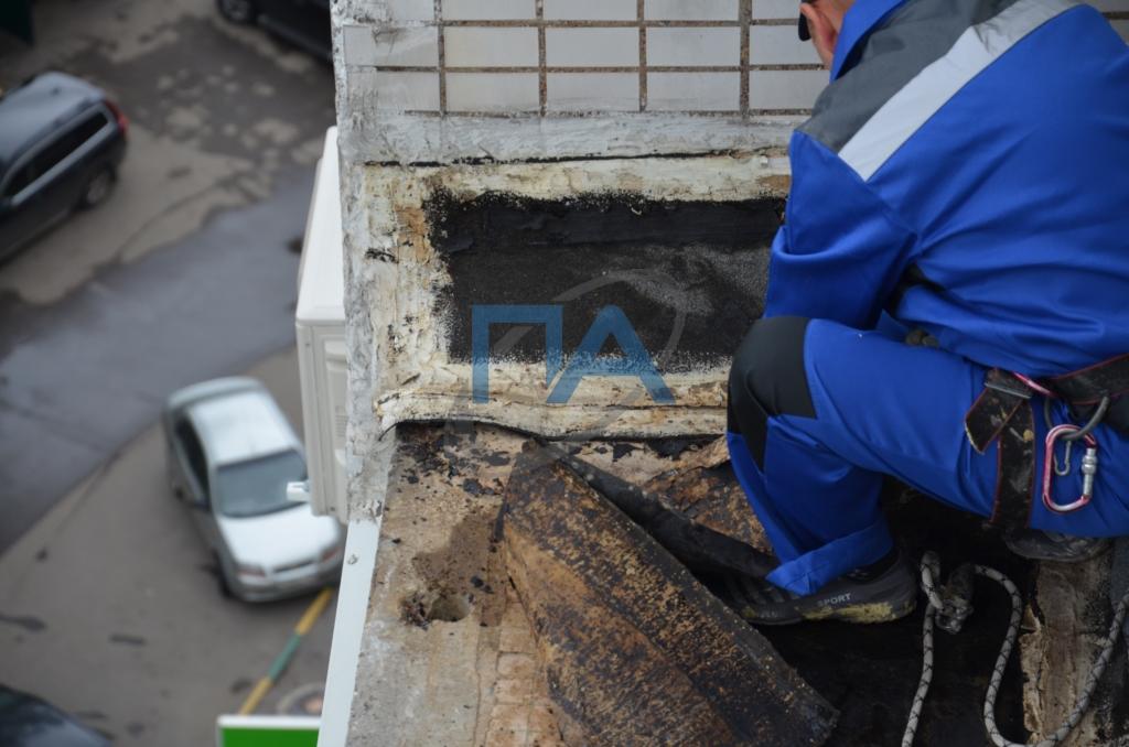 22 герметизация стыков элементов полносборных зданий, заделка выбоин и трещин на поверхности блоков и панелей